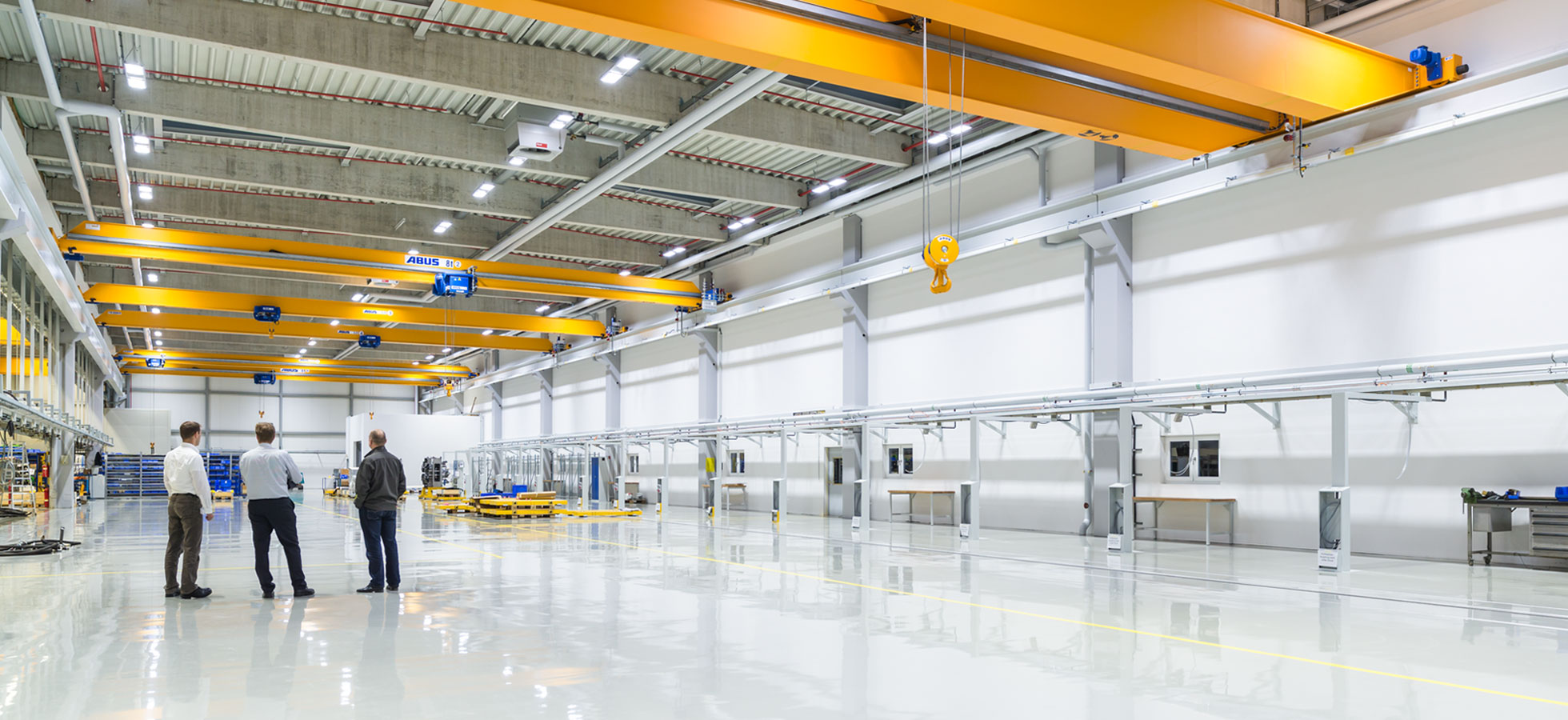 <span>Produktionshallen Beleuchtung</span>