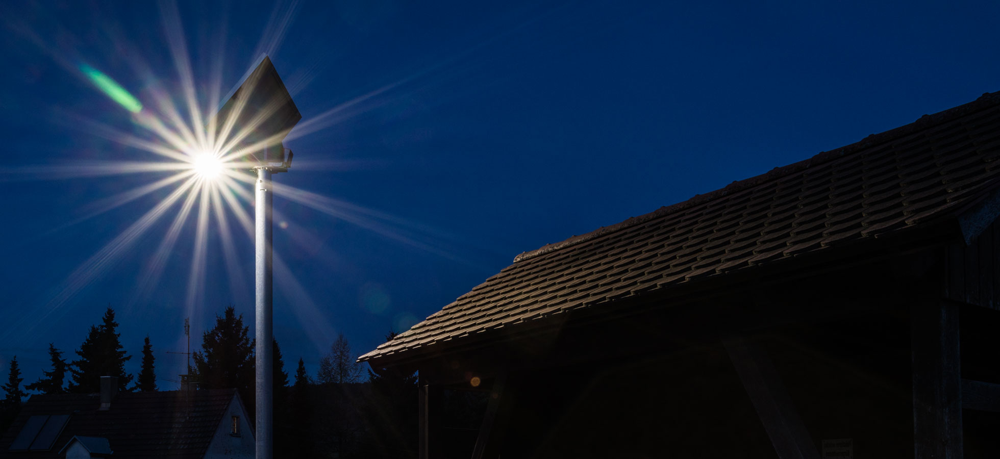 <span>Effiziente und robuste Außenbeleuchtung</span>